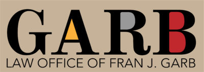Logo by lotsabigideas for Law Offices of Fran J. Garb